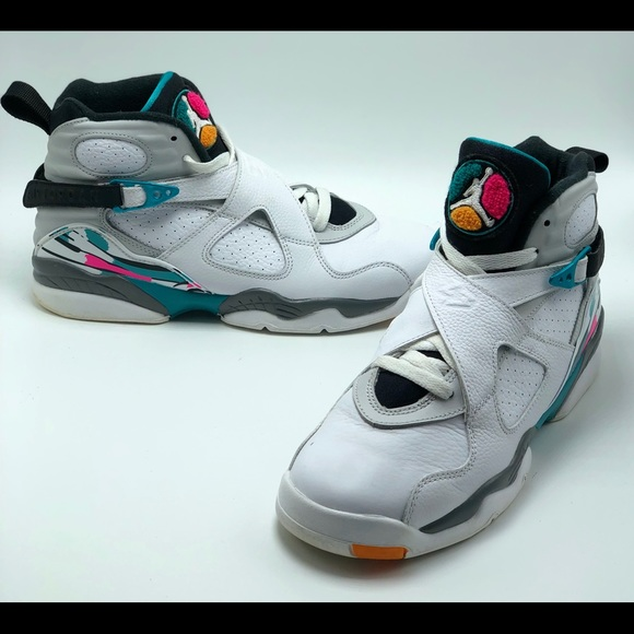 "check out e7122 881bf Jordan Other - Air Jordan 8 Retro ""South Beach"""